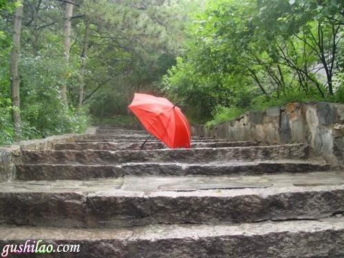 带血的红雨伞灵异故事