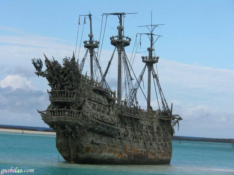 百慕大惊现消失几十年的幽灵船