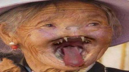 哈尔滨猫脸老太太