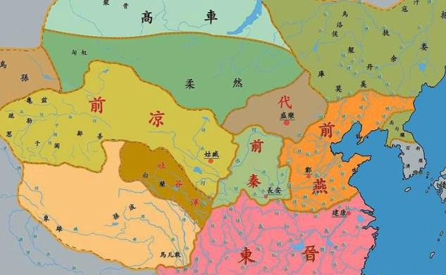 五胡十六国时期的汉胡互化